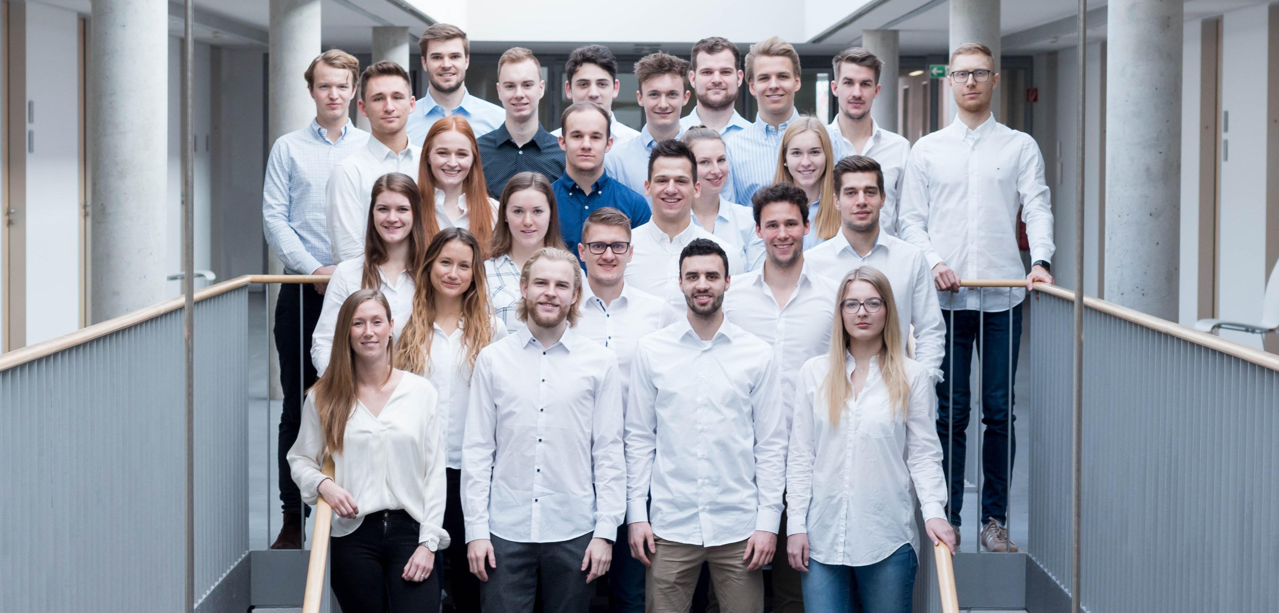 Das gesamte SPC-Team 2019; © matchinglightphotography.de